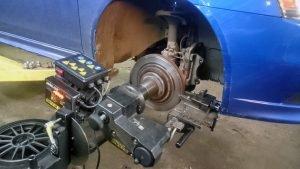 проточка тормозных дисков без снятия - фото