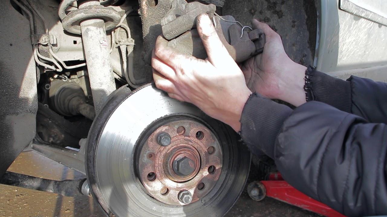 Замена задних тормозных колодок Пассат Б5 (Volkswagen Passat B5) - реальный опыт